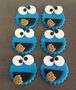 Cake Supplies - Cookie Monster Toppers