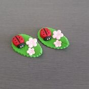 Lady Bug Cupcake Toppers