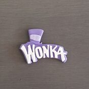 Edible fondant Willy Wonka Cupcake toppers