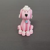 Poodle Cake Topper