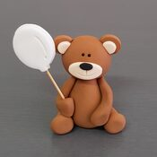 Teddy Bear Cake Decorations