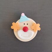 Circus Clown cake decorations